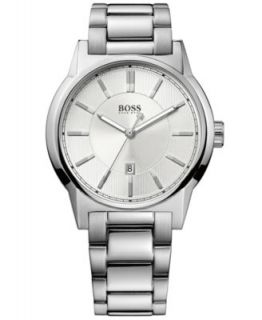 Hugo Boss Watch, Mens Stainless Steel Bracelet 40mm 1512720   Watches   Jewelry & Watches