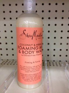 Shea Moisture Foaming Milk Body Wash Coconut and Hibiscus  Bath And Shower Gels  Beauty