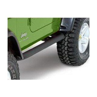 Olympic Side Bar, Textured Black 1997 2006 Jeep Wrangler TJ # 370 124 Automotive
