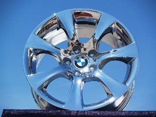 BMW 5 series SportStyle 124 Set of 4 genuine factory 18inch chrome wheels Automotive