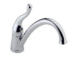 Delta Talbott 117 DST Single Handle Kitchen Faucet, Chrome   Touch On Kitchen Sink Faucets