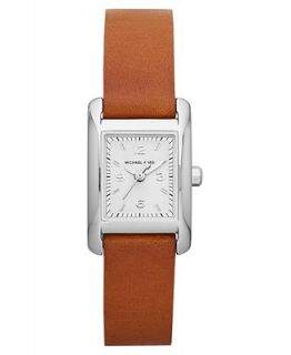 Michael Kors Womens Luggage Leather Strap Watch 22x20mm MK2257   Watches   Jewelry & Watches