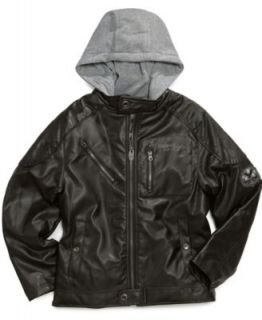 Urban Republic Kids Jacket, Little Boy Faux Leather Jacket   Kids