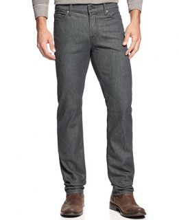 7 For All Mankind Slim Straight Leg Jeans, Clean Grey   Jeans   Men