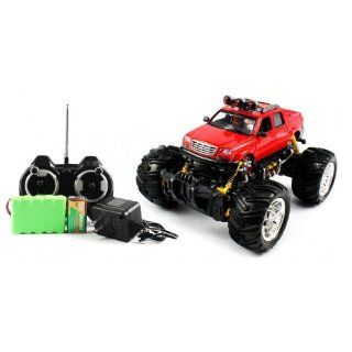 Big Size QUALITY Electric Full Function 116 Cadillac Escalade EXT Monster RTR RC Truck Monster RTR RC Truck (Colors MAy Vary) QUALITY Remote Control RC Trucks w/ Working Suspension Toys & Games