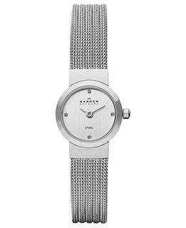 Skagen Denmark Watch, Womens Stainless Steel Mesh Bracelet 19mm SKW2010   Watches   Jewelry & Watches