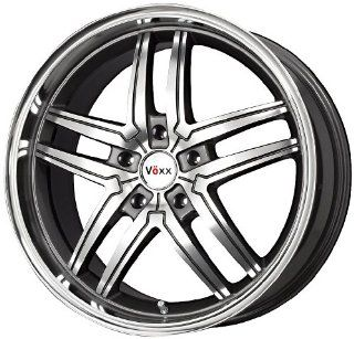 "Voxx  Torino Wheel with Gunmetal Machined Face (16x7.5""/5x112mm) Automotive"