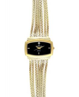 AK Anne Klein Watch, Womens Gold Tone Multi Chain Bracelet 10 8400BKBG   Watches   Jewelry & Watches