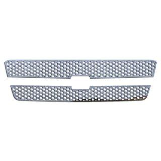 Ferreus Industries   2002 2006 Chevy Avalanche Circle Punch Polished Stainless Grille Insert Works Only on Trucks Without Body Cladding   TRK 102 03 01 Automotive