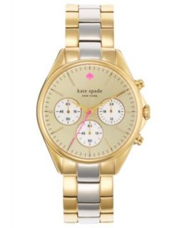 kate spade new york Watch, Womens Chronograph Brooklyn Gold Tone Stainless Steel Bracelet 38mm 1YRU0100   Watches   Jewelry & Watches