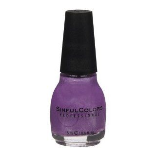 Sinful Colors Professional Nail Polish Enamel 102 Purple Diamond Health & Personal Care