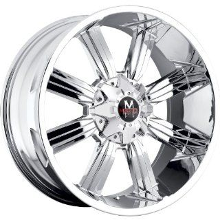 Off Road Monster M03 17 Chrome Wheel / Rim 5x5 & 5x135 with a 0mm Offset and a 87.1 Hub Bore. Partnumber M03750000 Automotive