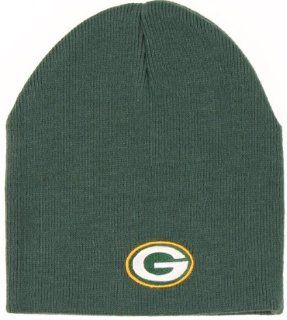 NFL Official Licensed Green Bay Packers Classic Black Cuffless Beanie Hat Ski Skull Cap Lid Toque  Sports Fan Beanies  Sports & Outdoors
