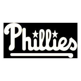 "PHILEADELPHIA PHILLIES TEAM LOGO   6"" LIGHT BLUE   Vinyl Decal Window Sticker Automotive"