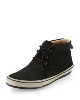 Redding Suede Chukka Boot, Black