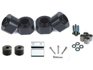 Jeep Grand Cherokee ZJ 93 98 Front and Rear 2 Inch Black Polyurethane Spacer Kit Automotive