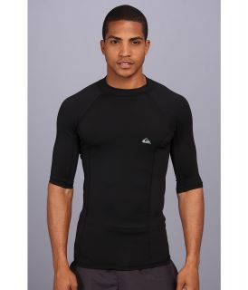 Quiksilver Basix S/S Surf Shirt Mens Swimwear (Black)