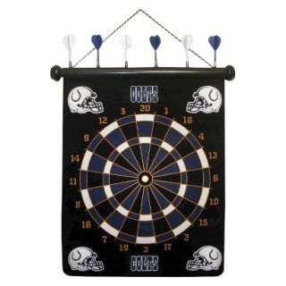 Rico NFL Indianapolis Colts Magnetic Dart Board Set