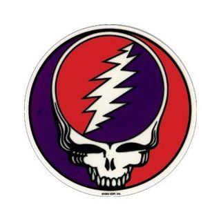 "Grateful Dead Rock Music Band Sticker   Steal Your Face 2"" Automotive"