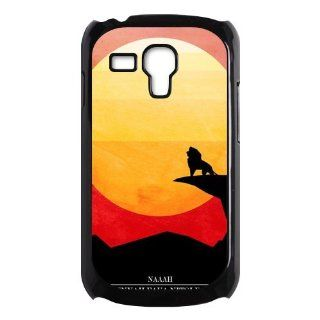 For Samsung Galaxy S3 Mini i8190 Case, The Lion King Hard Plastic Back Cover Case for Samsung Galaxy S3 Mini Cell Phones & Accessories