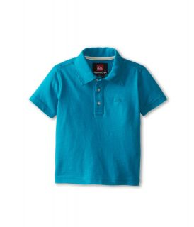 Quiksilver Kids Get It Polo Boys Short Sleeve Pullover (Blue)