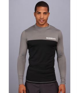 Quiksilver Chop Block L/S Surf Shirt Mens Swimwear (Black)