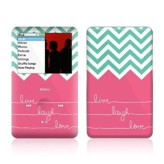 Live Laugh Love Design iPod classic 80GB/ 120GB Protector Skin Decal Sticker   Players & Accessories