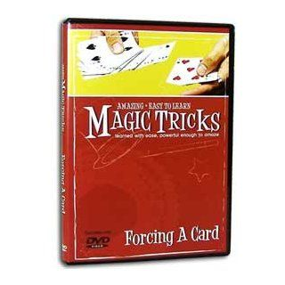 Amazing Easy to Learn Magic Tricks DVD Forcing a Card Sports & Outdoors