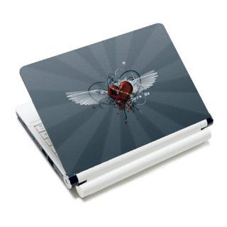 Cure Me Wing Heart Laptop Notebook Protective Skin Cover Sticker Decal Protector   12.1 13.3 14 15.6 16 17 Inch For Acer Apple Asus Dell Fujitsu HP Lenovo Panasonic Samsung Sony Toshiba Gateway  Non Decorative Stickers