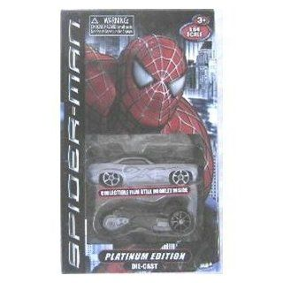 Spiderman 3 Platimun Edition Die Cast Cars   Assortment Toys & Games