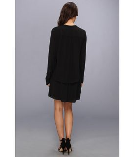 BCBGMAXAZRIA Lani Long Sleeve Blouse Dress