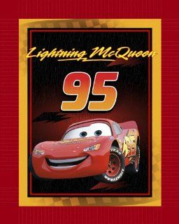 Disney No Sew Fleece Throw Kit Cars Lightning McQueen By The Each