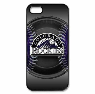 Iphone5/5s Covers Colorado Rockies personalized silicone case Cell Phones & Accessories