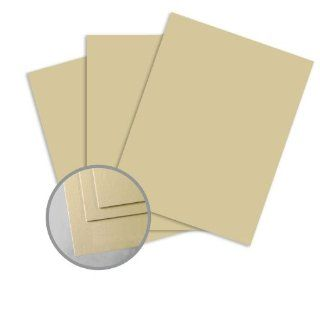 ColorMates Light Coffee Brown Card Stock   8 1/2 x 11 in 65 lb Cover Smooth 250 per Package  Cardstock Papers