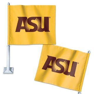 "Arizona State Sun Devils Official NCAA 14"" Car Flag by Wincraft  Sports Fan Automotive Flags  Sports & Outdoors"