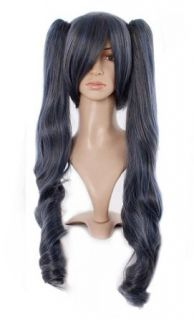 "Taobaopit Black Butler Kuroshitsuji Ciel Women Wave Costume 33"" Cosplay Wigs Adult Sized Costumes Clothing"