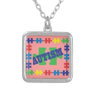 Puzzle Piece Autism Awareness Necklace Gift Idea