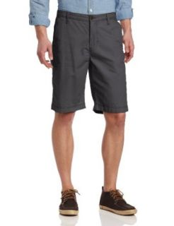 Lucky Brand Men's Flat Front Short, Twill, 30 at  Men�s Clothing store
