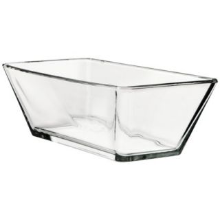 Libbey™ Oblong Clear Glass Vase 4x 12.25x 6
