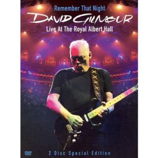 David Gilmour Remember That Night   Live from R