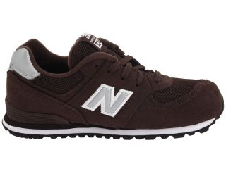 New Balance Kids KL574 (Infant/Toddler) Brown