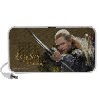 Legolas Drawing Bow Graphic Notebook Speaker