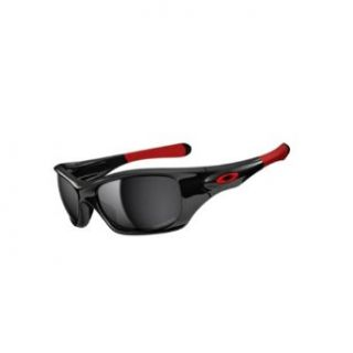 Oakley Pit Bull Men's Asian Fit Polarized Special Editions Ducati Lifestyle Sunglasses/Eyewear   Polished Black/Black Iridium / One Size Fits All Clothing