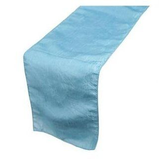 Taffeta Light Blue Table Runner