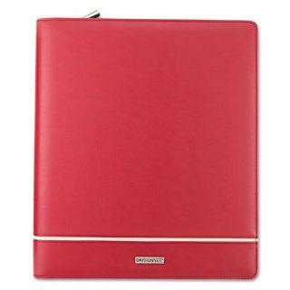 Day Runner Products   Day Runner   Deco Slim Profile Organizer, Undated Weekly/Monthly Pages, 8 1/2 x 11, Red   Sold As 1 Each   An inset stripe and fashion edge give this binder a sophisticated art deco appearance.   Includes three months of undated weekl