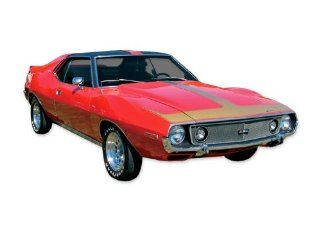 1971 1972 1973 1974 AMC Javelin AMX (solid) Decals & Stripes Kit   RED Automotive