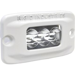 Rigid Industries MSR M2F Single Row Mini Amber LED Flush Mount Light Wide 759677