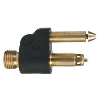Quick Connector Male Fuel Tank Fitting with 1/4 NPT brass (Mercury) 80923