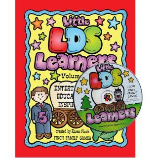 Little Latter day Saint Learners Activity Book Comes with a CD Rom   Finch Family Games   21 Fun Games & Activities, 128 Pages Karen Finch 9780982156964 Books