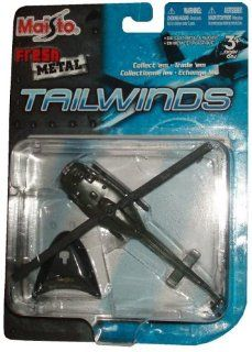 "Maisto Fresh Metal Tailwinds 187 Scale Die Cast United States Military Aircraft   U.S. Marine Corps Multipurpose Military Helicopter  Bell UH 1 Iroquois ""Huey"" with Display Stand Toys & Games"